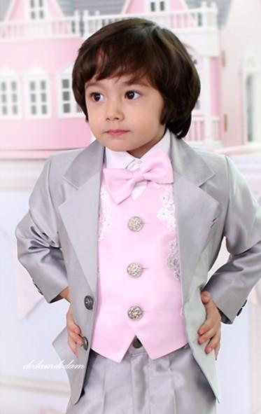 出口欧美 最新男童5件套装/男童礼服/西装|男花童装|洋服儿童西装