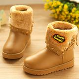 儿童防滑棉鞋