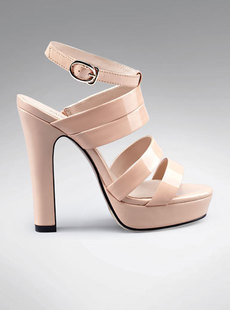 Dream Basha shoes 2012, new simple leather with high water Roman Sandals 122,512,223