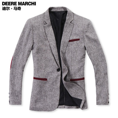 Deere Maqi Qiu fitted blazer British men Slim casual suit men's casual suit M10005