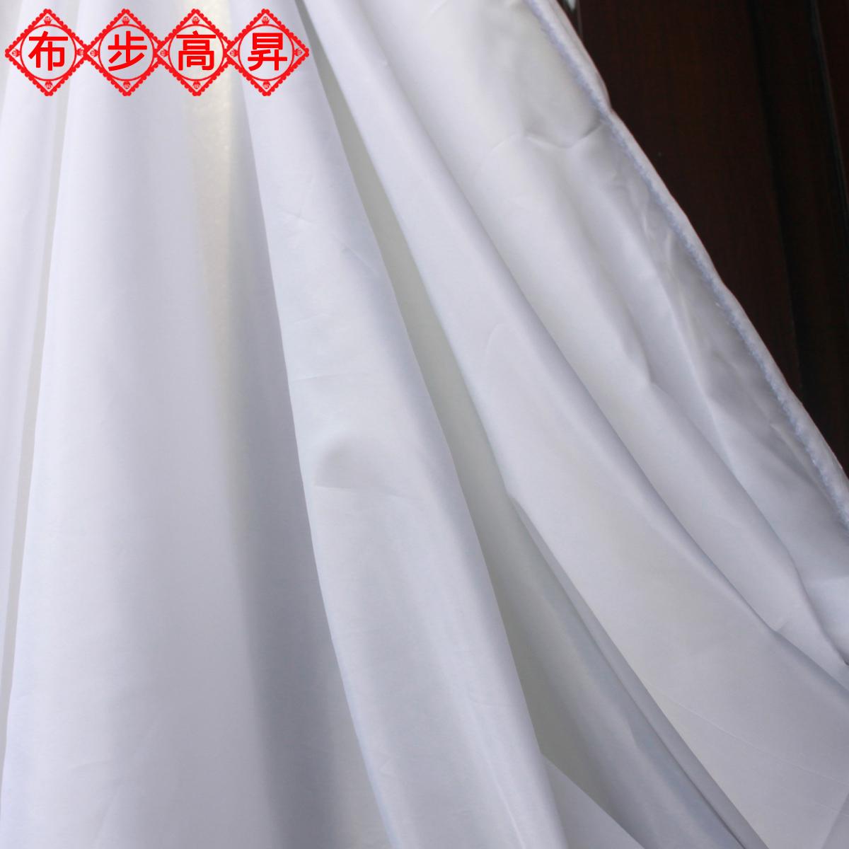 5: 蓝白格子日系清爽面料高支棉全棉布纯棉薄料衬衫布料服装小清新仙