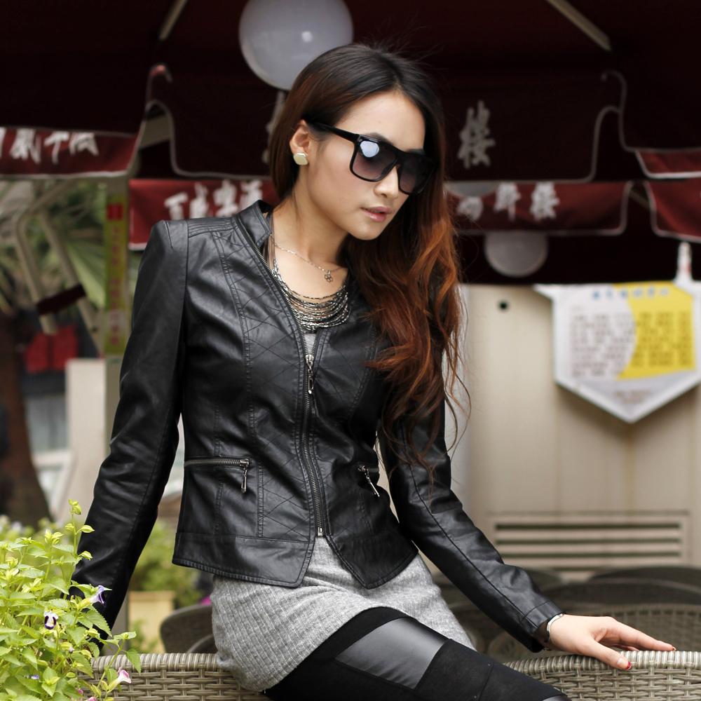 Кожаная куртка  25025 PU A25025
