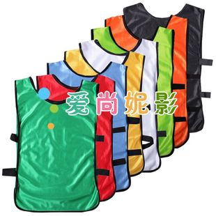2012 new child group Mercerized Vests football training vest combat clothing for students-color