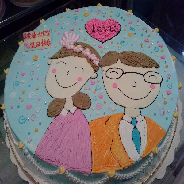 创意水果蛋糕图片_儿童创意手工_手印画创意图片 ...