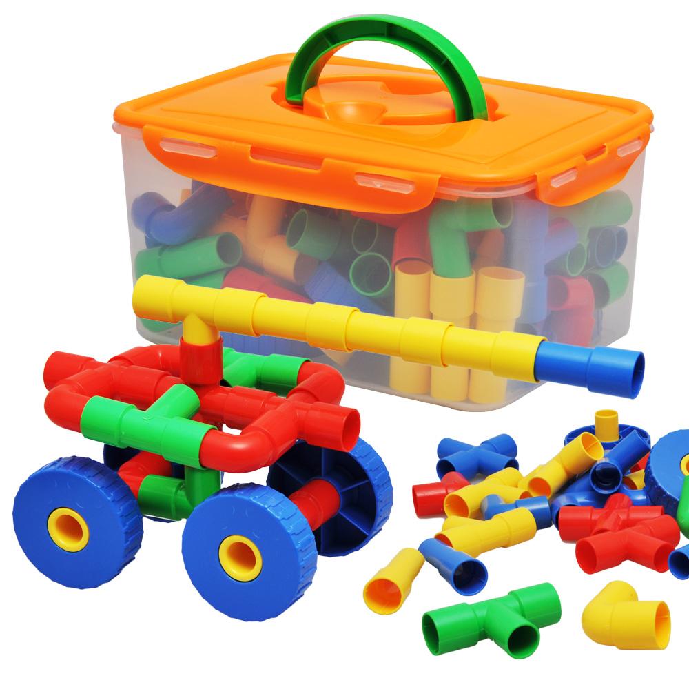 包邮积木塑料拼装玩具拼插儿童水管幼儿园管道潜力益智玩具3-7岁牙狼玩具剑图片