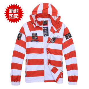 2011 new act as purchasing agency  Shark sharks  single counters quality goods cap detachable hidden coat men's clothing jacket