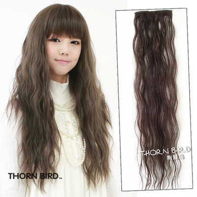 Thorn birds wig clip corn hair curly hair photo corn hot wigs pills