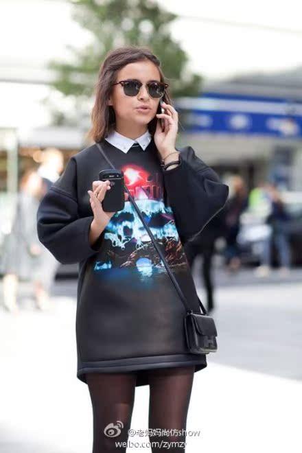 Футболка Живанши стиль вышивка горячие толстый свитер короткие t рубашка Хлопок Стандартная длина ( 55 - 65см )