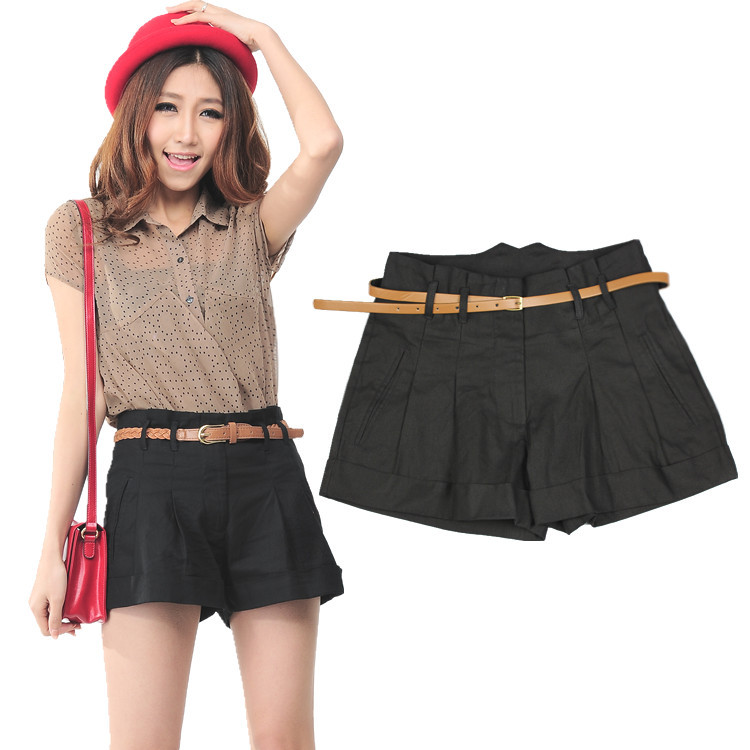 High Waisted Shorts Women