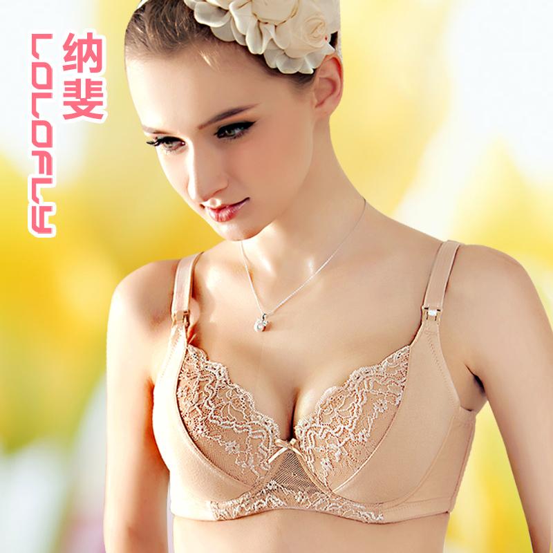 孕妇内衣 哺乳文胸 纳斐 喂奶胸罩 防下垂外扩副乳 软钢圈 迎春乐