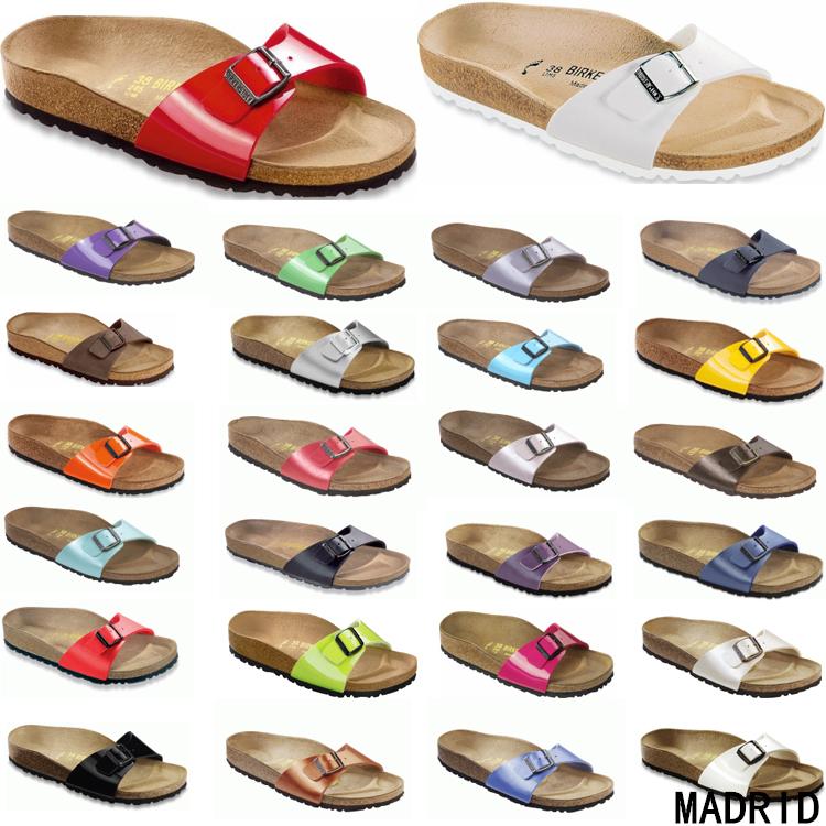 Hong Kong stock purchase of quality Birkenstock Germany shoes Birkenstock Madrid women single buckle slippers
