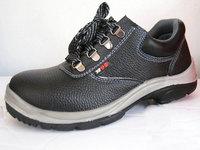 新款双密度PU底劳保鞋 工作防砸安全鞋钢包头 防刺穿 工厂 防护鞋