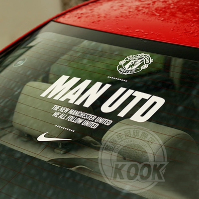 Man U Car Stickers