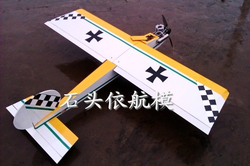 Sent 15 Nitro fuel tool Crusader fixed-wing Nitro on the 2.4G6 remote control complete with wooden paddle
