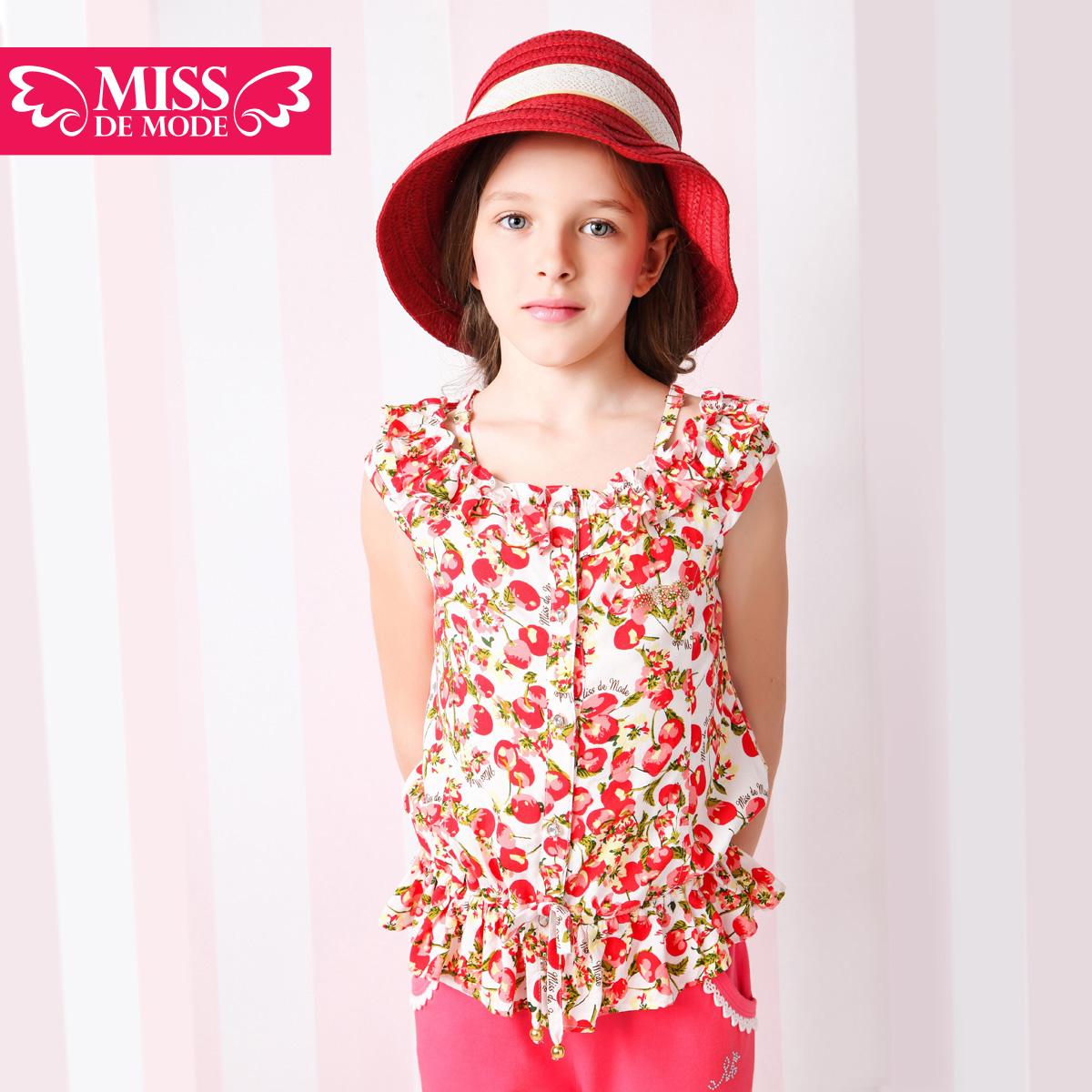 Рубашка детская Miss de mode qx414068 2014