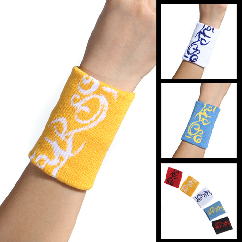 Genuine latitude rivers basketball wristband sweatband absorbent l men and women wrist extension