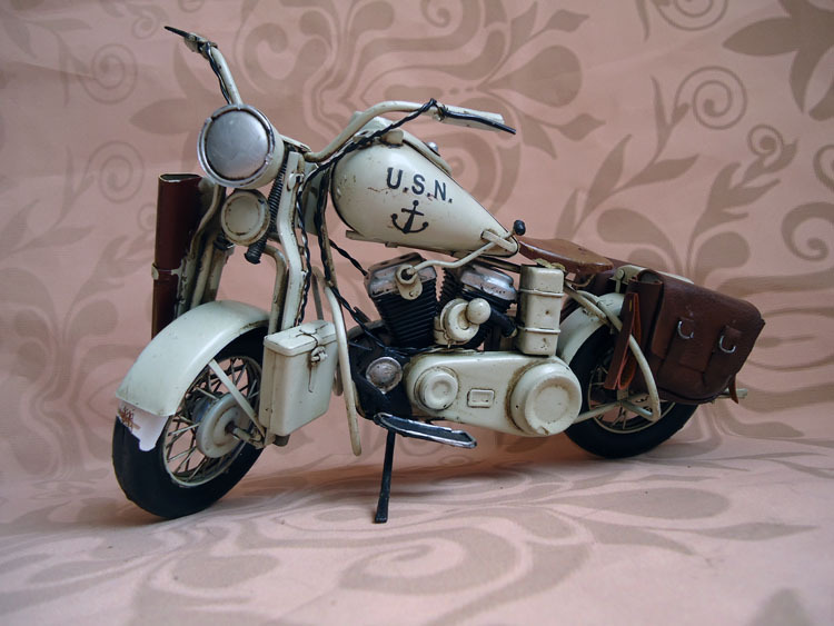 Hand Made Motorcycle 【JLM1707M-GY】1945