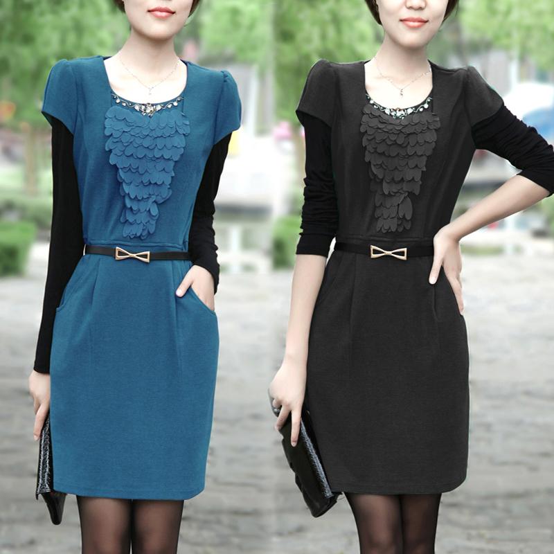 Женское платье Counter genuine 1201 2012 OL Трикотажные изделия