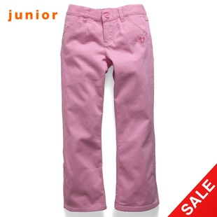 After snap up limited edition Giordano rubber waist pants girls casual pants 03419750