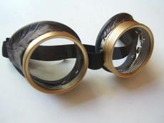 Маски мотоциклетные Улей латунные очки стимпанк
