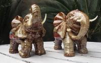 陶瓷大象大号风水摆件陶瓷大象摆件如意象商务礼品 家居镇宅招福