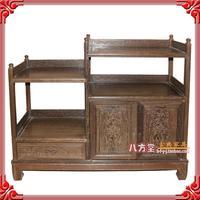 特价新古典中式明清仿古红木家具 鸡翅木 餐边柜 小酒柜 茶水柜