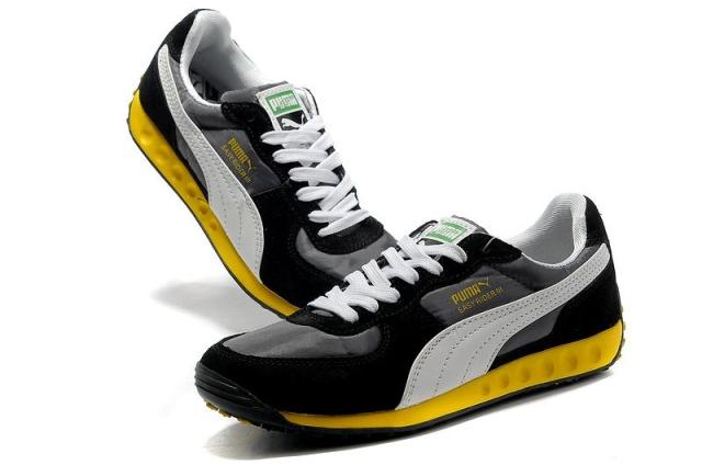 Демисезонные ботинки Puma 301002 BMW Для отдыха Верхний слой из натуральной кожи Круглый носок Шнурок Весна и осень