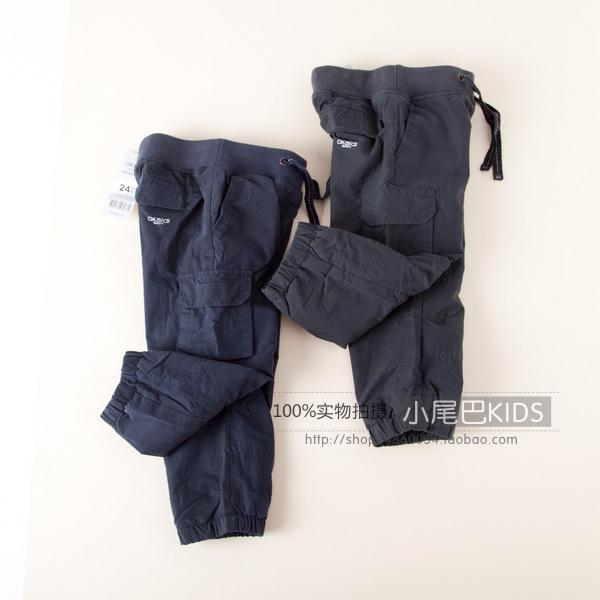детские штаны Other 11 OK Other Для отдыха С кожаным поясом на талии