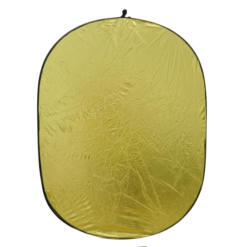 90*122cm五合一反光板 独有金银波浪混合/白色/柔光/银色/金色