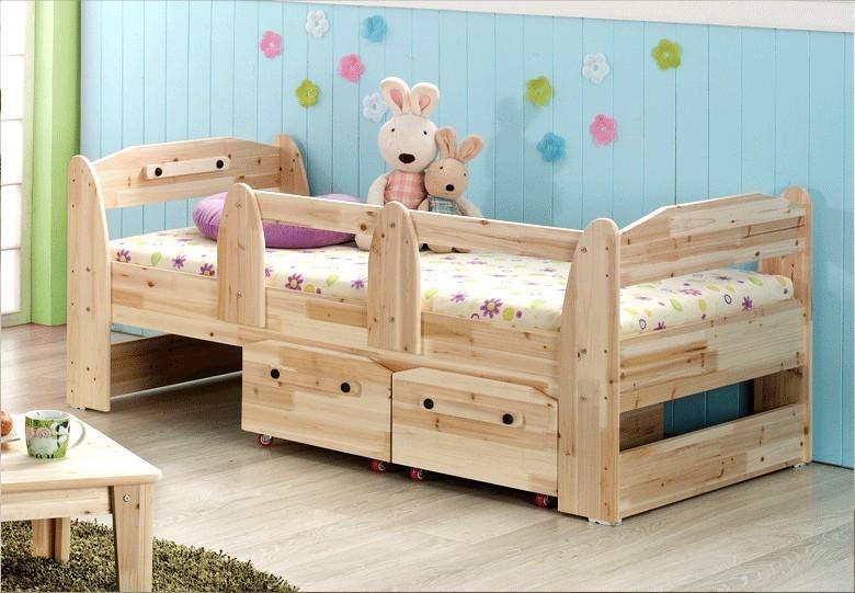 Cama cunas de madera para ni as imagui - Cuna cama para nina ...