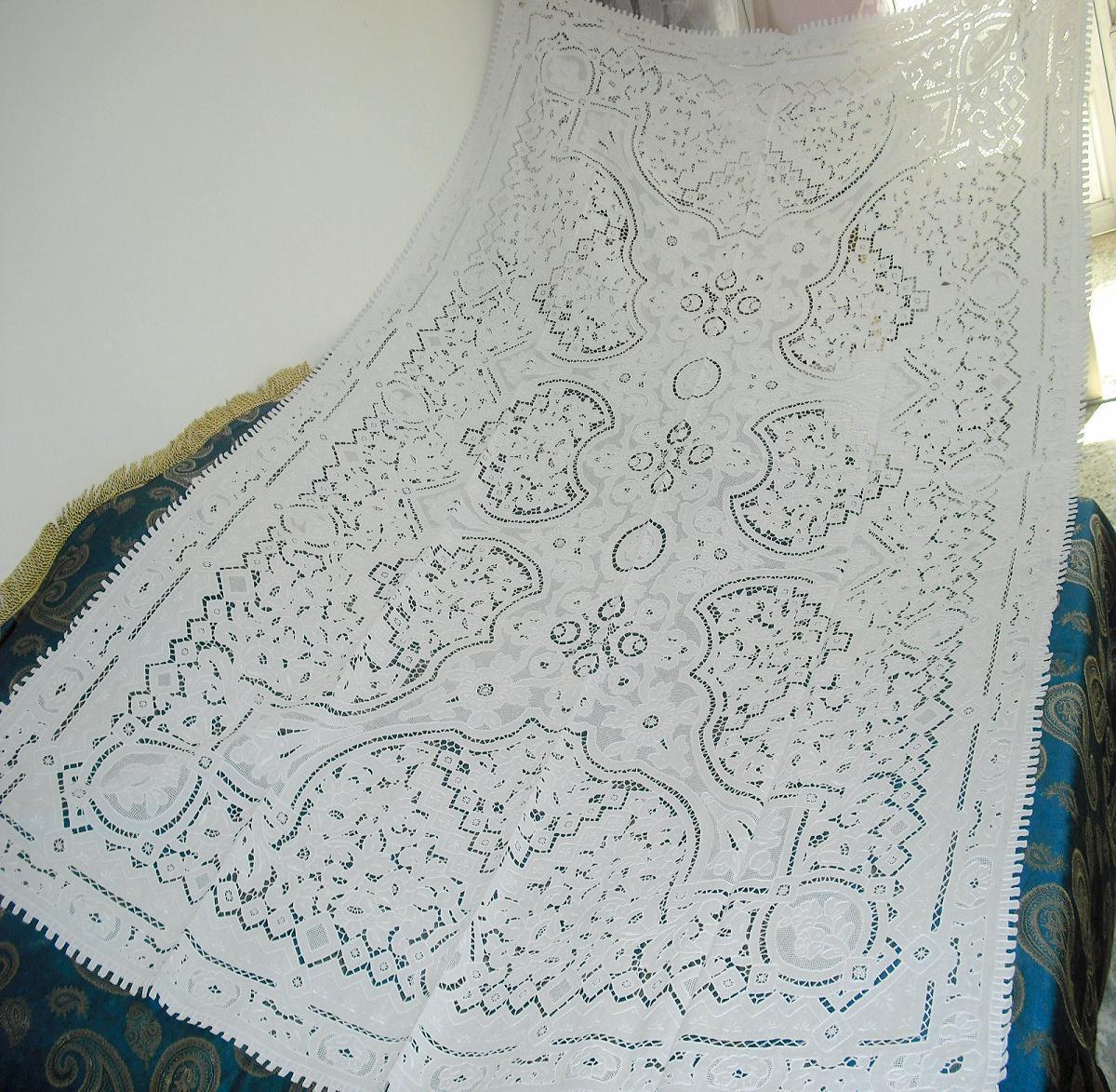 Скатерть Lu embroidery 6001 268*168