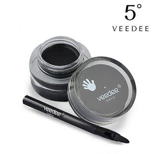5度正品 流云造型眼线膏 防水不晕染防汗持久线条眼线笔 特价包邮
