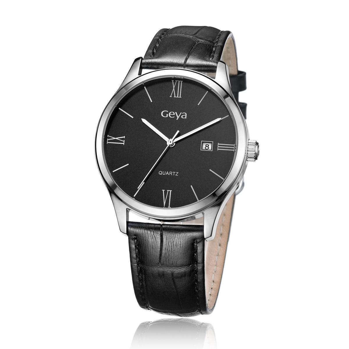 Часы Geya 2013 Кварцевые часы Пара стол Китай 2012