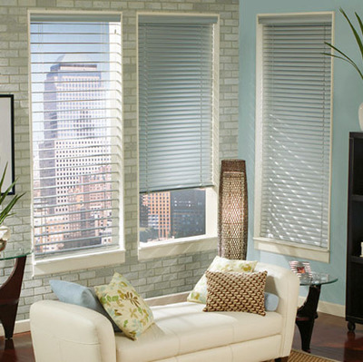 World-resistant aluminum blinds --25 mm striped suit (NS001-003)