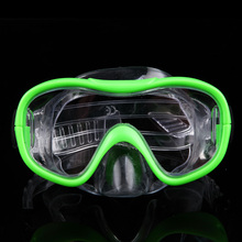 Big box swimming goggles can cover the nose mirror male ms authentic goggles earplugs nose clip to suit