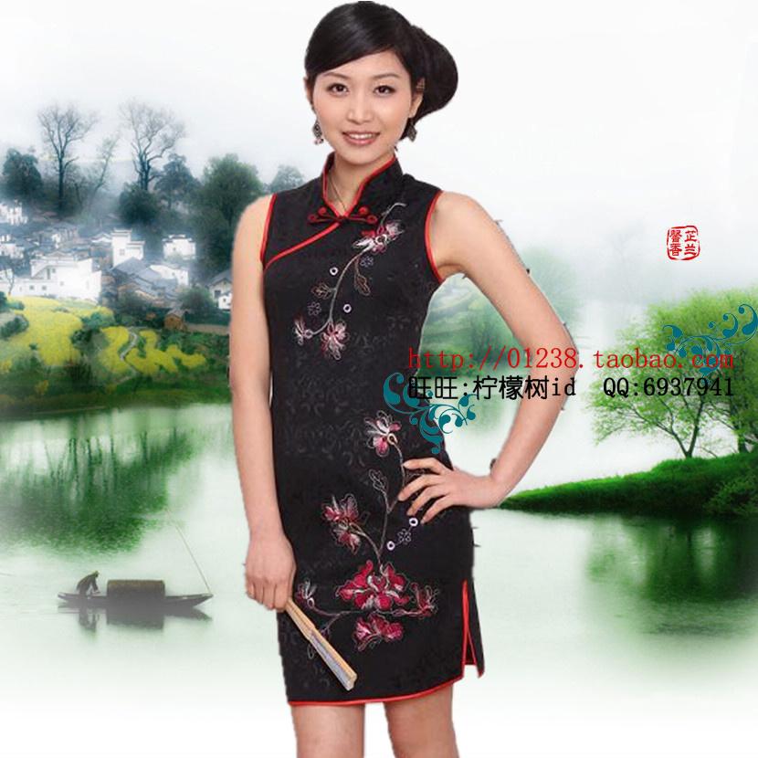 Платье Ципао  QM/qp0103