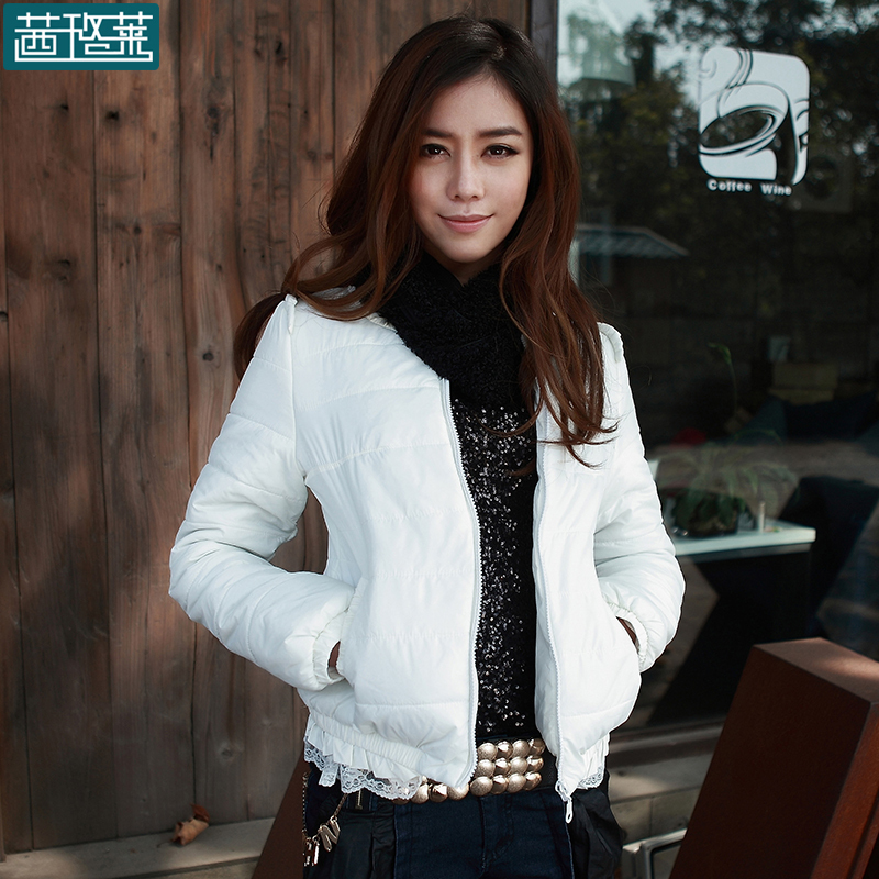 2013 spring and winter clothing clearance female Korean short scarf coat coat jacket dress discount specials