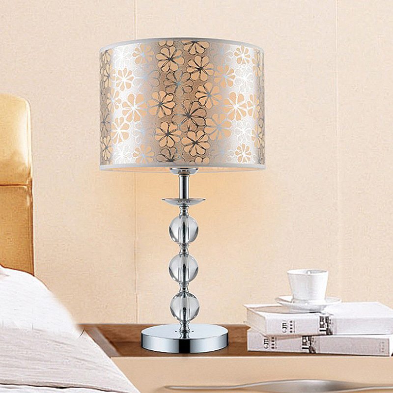 Modern Crystal Bedroom Lamp Dimmer Bedside Personality