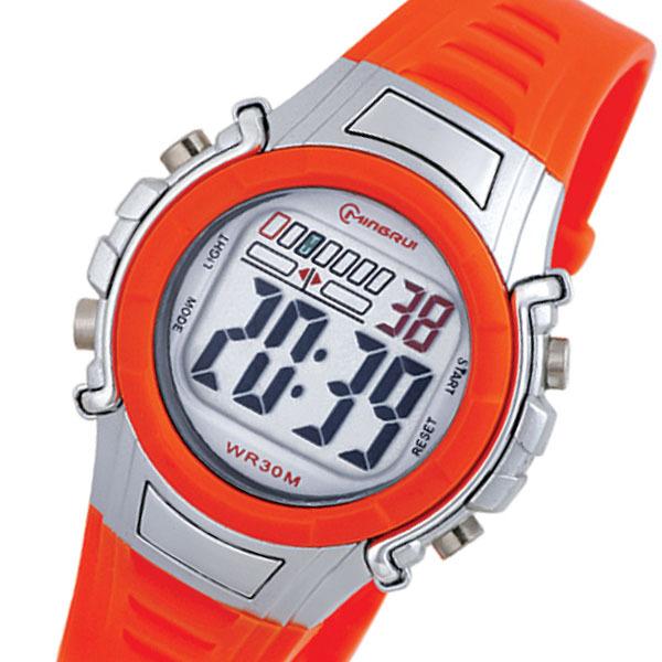 正品名瑞 儿童男孩女式休闲潮流韩流学生电子表 户外防水运动手表