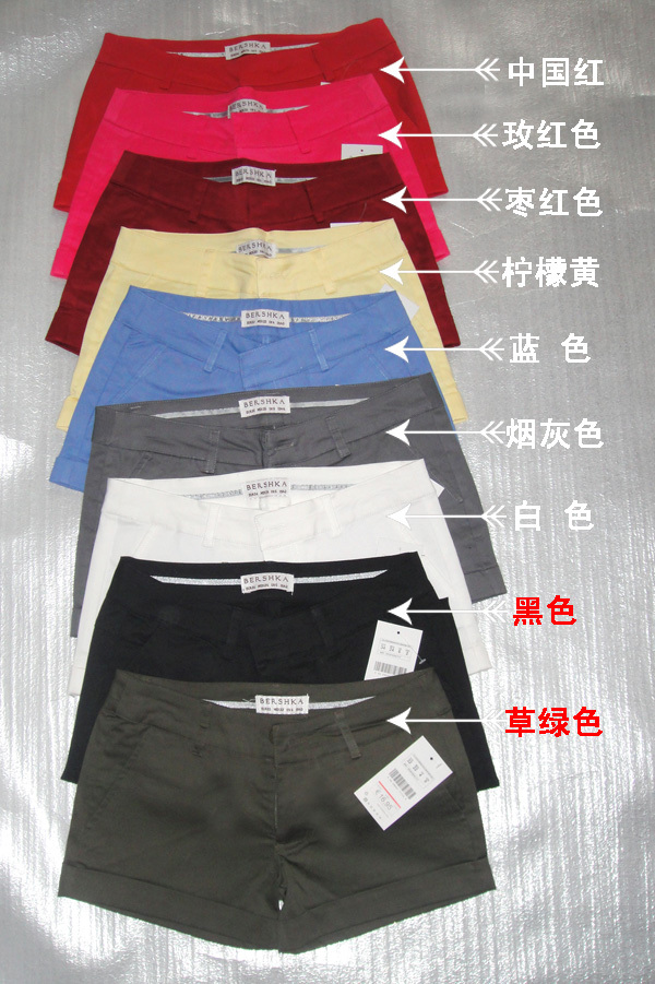 Женские брюки Красота должн иметь летние штаны хлопка в горячие брюки шорты Джокер поставки оптом Шорты, мини-шорты Другая форма брюк