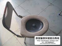 包邮 乐福LF606 小高靠背喷涂坐便椅 (便桶式)可以折叠轻便坐便