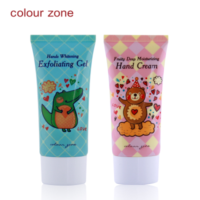 Color Strip Hand Care Kit exfoliating / cleaning / whitening / moisturizing hand cream