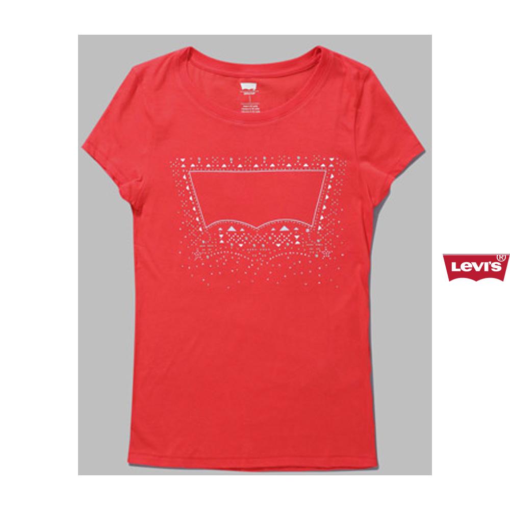 正品代购levis李维斯女士时尚休闲短袖t恤原价259 32223-0035