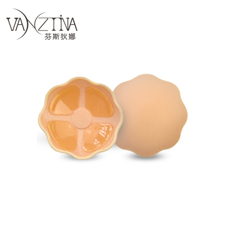 Fensidina mini silicone invisible bra stick nipple stickers wedding dresses strapless bra anti-left anti-bumping