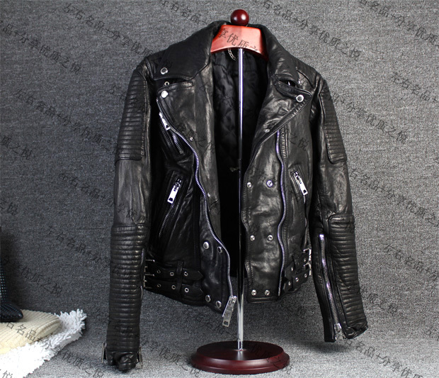 Кожаная куртка Motorcycle leather short paragraph  Bur