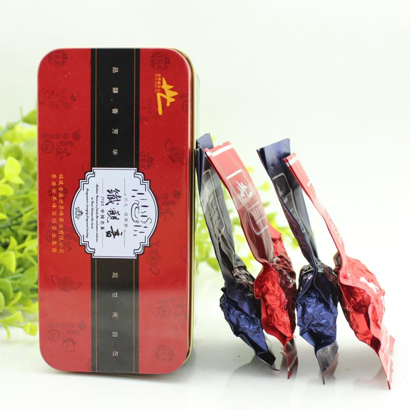 世界峰茶叶 铁观音乌龙茶 清香型浓香型各4泡