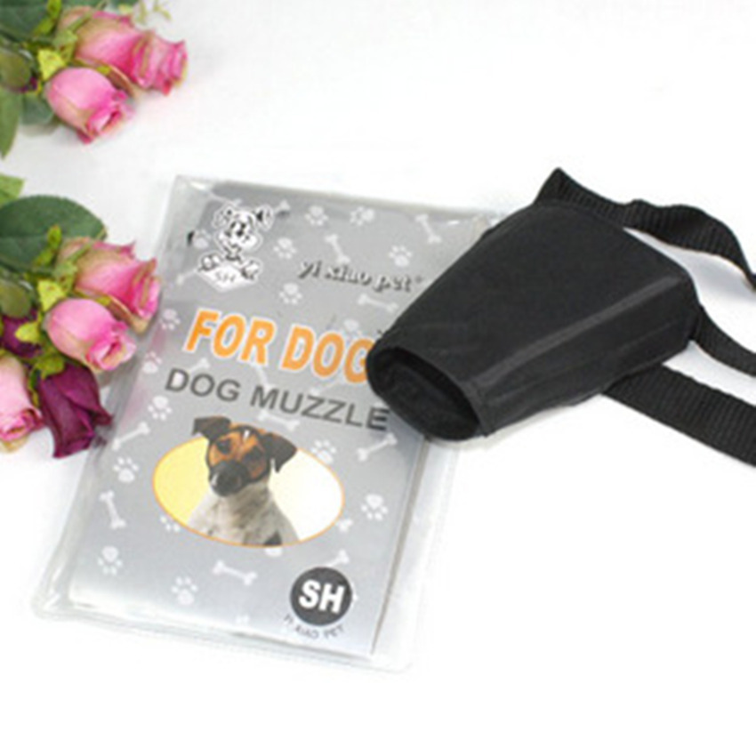 Dog suitable for high quality nylon nylon cover pet dog muzzle mouth mouth mouth