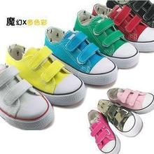 清仓 新款回力童鞋儿童帆布鞋 低帮男女儿童鞋 魔幻多彩童鞋-Q图片