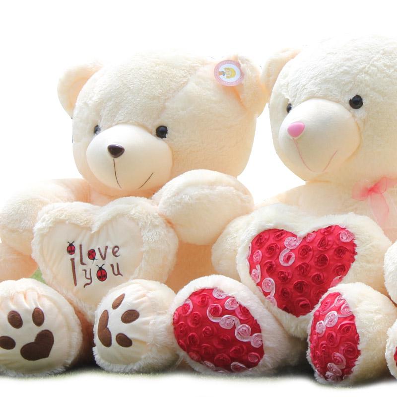 超大抱心熊泰迪熊娃娃
