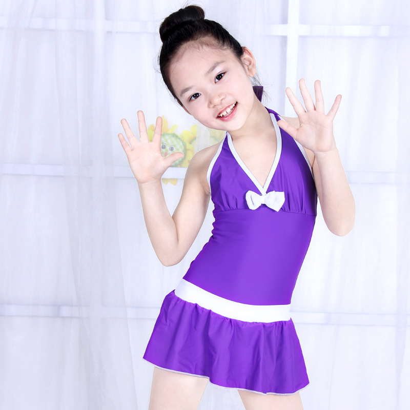 Siamese Skirt Large Children Little Girl Cute Korean